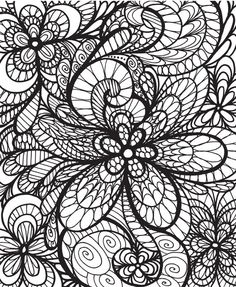 50 Original Flowers To Color