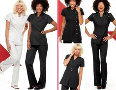 I like to have all employees in uniform because it looks so professional. Spa Uniforms
