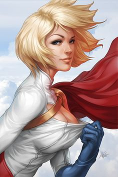 It might be odd from a girl, but Power Girl is my favourite super heroine. And with the new 52 version, I am gonna miss the window :(