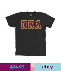 T-Shirts Pi Kappa Alpha Fraternity Bella + Canvas Shirt Pike Greek Letter - Many Colors #ebay #Fashion
