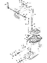 MERCURY/MARINER 2/2.5/3.5 4-STROKE Driveshaft Housing