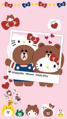 ♥ LINE FRIENDS & HELLO KITTY ♥