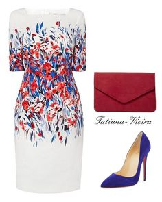"""106"" by tatiana-vieira ❤ liked on Polyvore featuring Christian Louboutin and Dorothy Perkins"