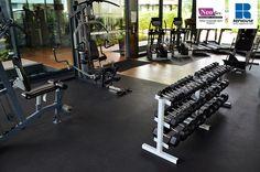 Neoflex Reco Series Rubber Fitness Flooring @ Hyflux Ltd's Campus, Singapore