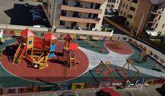 Acest proiect s-a desfasurat pe perioada a 2 luni (proiectare si implementare) iar finalizarea lui a fost foarte asteptata de copiii din Cartierul Visoianu Iasi. Multitudinea de jocuri si functionalitatea parcului impreuna cu cromatica folosita, fac din acest parc de joaca pentru copii un mare punct de atractie si implicit un proiect de design reusit.
