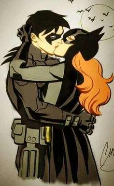 Amo a esta pareja batgirl and Nightwing Nightwing And Batgirl, Batgirl And Robin, Batman Robin, Batwoman, Gotham Batman, Batman Art, Comics Love, Dc Comics Art, Marvel Comics