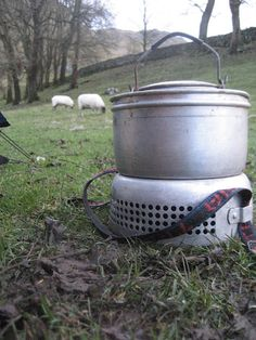 Trangia; cooking as it's supposed to be!