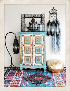 Have a go at incorporating some decadent Moroccan decor into your next decorating scheme. Moroccan Theme, Moroccan Bedroom, Moroccan Style, Moroccan Lighting, Moroccan Lanterns, Arabian Nights, Bedroom Wall, Gallery Wall, Frame