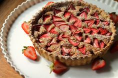 Petite Strawberry Frangipane Tart | Korena in the Kitchen