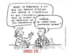 danger école: novembre 2010 Vignettes, Teacher, Lol, Messages, Humor, Comics, Quotes, Cartoons, Smile
