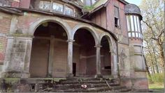 abandoned chateau in Belgium