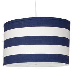 Stripe Large Cylinder Light // Oilo Studio