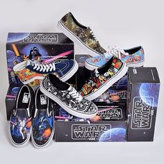 I want all of these. #Vans Collection #StarWars Fall/Winter 2014 #sneakers