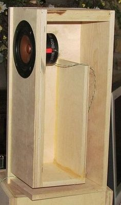 icu ~ Speaker box design in 2019 Speaker Box Diy, Speaker Plans, Speaker Box Design, Horn Speakers, Diy Speakers, Subwoofer Box Design, Audiophile Speakers, Audio Design, Loudspeaker