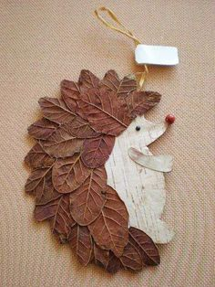 Basteln Schule Igel DIY Naturmaterialien Blätter herrlicher Look Tips On Talking To Kids About Not S Leaf Crafts, Diy And Crafts, Arts And Crafts, Paper Crafts, Decor Crafts, Autumn Crafts, Nature Crafts, Christmas Crafts, Diy Autumn
