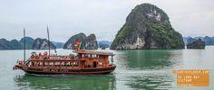 Boat in Ha Long Bay Vietnam