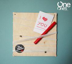 String Out! organize your stuff http://www.mybaze.com/oneoens