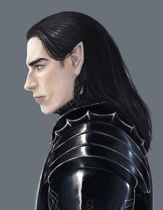 Eol. the Dark elf, Ellirh Shaan on ArtStation at https://www.artstation.com/artwork/eol-the-dark-elf