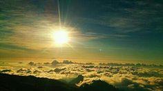 Lombok indonesia lautan awan rinjani mountain 3726 mdpl