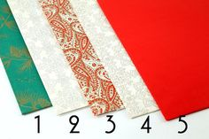 Assorted Vintage Christmas Present  Wrapping Paper by Circa810, $9.00
