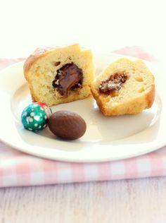 Caramel Egg Muffins - Bonjour Sucre