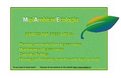 #‎MiplAmbientEcologia‬  SERVICES FOR GREEN AREAS: - Planning and realization of green areas - Maintenance of green areas - Controlled fellings - Pruning and knocking down tree with high up trunk  If you want to know more, discover all the service on our website: http://www.miplae.it/  Contact us: 800 913503  ‪#‎Green‬ ‪#‎Tree‬ ‪#‎Services‬ ‪#‎Design‬ ‪#‎Ecologia‬ ‪#‎Ambiente‬ ‪#‎Rispetto‬ ‪#‎Potature‬ ‪#‎Giardino‬ ‪#‎Natura‬ ‪#‎Treeclimbing‬