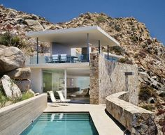 Wow... Luxurious Stone House on a Rocky Cliff in Baja, Mexico