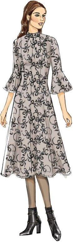 Fashion Illustrations, High Neck Dress, Dresses For Work, Fashion Design, Turtleneck Dress, High Neckline Dress