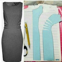 Pdf Sewing Patterns Dress Patterns Sewing Clothes Diy Clothes Pattern Drafting Pattern Making Sewing Techniques Dressmaking Pattern Design Coat Patterns, Dress Sewing Patterns, Clothing Patterns, Shirt Patterns, Coat Pattern Sewing, Pattern Drafting, Fashion Sewing, Diy Fashion, Fashion Coat