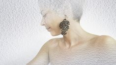 Limited edition designer earrings contemporary modern by DeUno