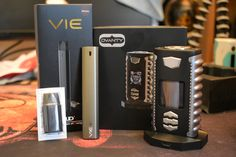 Just in... Ovanty Vega (with included charge dock...dual 18650 based mod as well) and the new UD VIE...