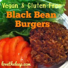 Foodie Friday: Vegan & Gluten Free Black Bean Burgers