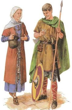 The Merovingian period is that of the first dynasty of Frankish kings 486751 who reign in Gaul after the end of the Western Roman Empire News A necropolis of the High Mi. Empire News, Middle Ages Clothing, Costume Français, Noisy Le Grand, High Middle Ages, Germanic Tribes, Carolingian, Empire Romain, Iron Age