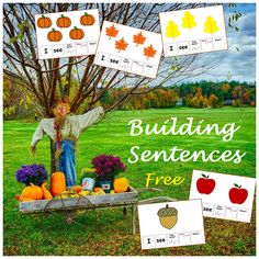 Activities For Autistic Children, Speech Therapy Activities, Free Activities, Autumn Activities, September Activities, Speech Language Pathology, Speech And Language, Teacher Freebies, Classroom Freebies