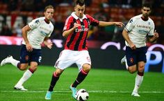 AC Milan 2-0 Cagliari: El Shaarawy double eases pressure on Allegri  The 19-year-old found the net twice on a night when the Rossoneri secured their first victory at San Siro in Serie A this campaign