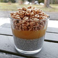 Chia pudding  ____________________________________  Chia, mleko roślinne, mango, orkisz ekspandowany.  ____________________________________ #chia #chiapudding #chias #mango #orkisz #gloobyfood #feedfeed #chiapuddinglovers #concretus #deser #zdroweslodycze #fitslodycze #pyszne #smacznego #zdrowejedzenie #f52grams #storyofmytable #eat #food #czystamicha #wiemcojem #yummy #eatclean #healthyfood #rewelacja #jemy #jedzenie #jedzonko #gloobyfood