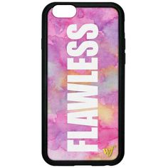Forever 21 Forever 21 Wildflower Flawless iPhone 6 Case ($40) ❤ liked on Polyvore featuring accessories, tech accessories, phone cases, phones, iphone, tech and forever 21