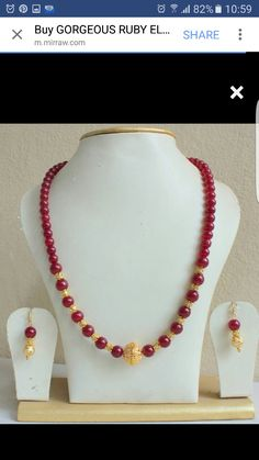 Find wide range of fashion jewellery, imitation, bridal, artificial, beaded and antique jewellery online. Buy imitation jewellery online from designers across India. Call us on [phone] now to resolve your queries. Real Gold Jewelry, Gold Jewelry Simple, Agate Jewelry, Bead Jewellery, India Jewelry, Fashion Jewellery, Jewlery, Beaded Jewelry Designs, Gold Jewellery Design