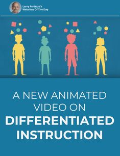 Katie Hull and I worked with Education Week to create this new – and, I think, nifty – animated explainer about differentiated instruction. Check it out and let me know what you think! Differentiated Instruction Strategies, Differentiation Strategies, Differentiation In The Classroom, Teaching Strategies, Flipped Classroom, Instructional Coaching, Instructional Technology, Instructional Strategies, Education Week