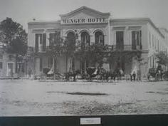 The Menger Hotel, in San Antonio, is thought to be the most haunted Hotel in San Antonio. Click the link to read more about the ghosts of the Menger Hotel. Haunted Hotel, Most Haunted, Haunted Places, Spooky Places, San Antonio, Menger Hotel, Only In Texas, Texas History, Texas Hill Country