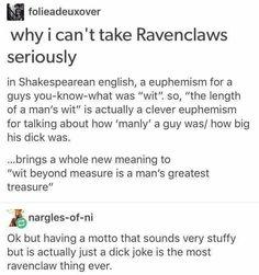 Ravenclaw pride!!!!