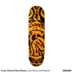 Crazy Cheetah Man Element Pro Park Board
