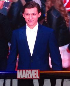 LQ pics of Tom Holland at the European Premiere of Captain America Civil War April 26, 2016