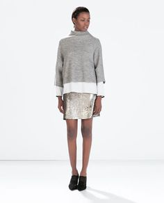 SEQUINNED MINISKIRT-Mini-Skirts-WOMAN | ZARA United States
