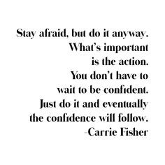 Carrie Fisher Quote Empowering quotes from women Quotes That Describe Me, Quotes To Live By, Me Quotes, Motivational Quotes, Funny Quotes, Funny Memes, Girl Boss Quotes, Woman Quotes, Carrie Fisher Quotes