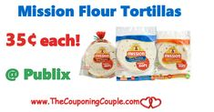 Mission Flour Tortillas Only $0.35 @ Publix through 3/7 or 3/8. Print your coupons and add this awesome deal to your list this week folks! **  Click the link below to get all of the details ► http://www.thecouponingcouple.com/mission-flour-tortillas-only-0-35-publix-through-38/ #Coupons #Couponing #CouponCommunity  Visit us at http://www.thecouponingcouple.com for more great posts!
