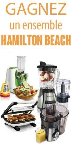 Gagnez un ensemble de 4 petits électros Hamilton Beach. Fin le 20 juin.  http://rienquedugratuit.ca/concours/4-electros-hamilton-beach/