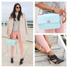 A warm welcome from the dark tones of winter, sherbet-color clothes are a clear option for spring. They can be tricky, though, those pastel hues. One false move and you look like a five-year-old who's getting ready for an Easter parade. Here are three ways I found on Pose to pull off the look with aplomb. Add edgy accessories: Black strappy sandals and a chain-link belt lend a tough touch to a yellow dress. Finish with bold earrings or a cool cocktail ring. Choose grown-up silhouettes: You…