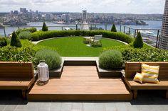 จัดสวนสวย เขียวขจีบนดาดฟ้า พักผ่อนสบาย อากาศสดชื่น! - จัดสวน - สวนสวย - สวยบนดาดฟ้า - สวนดาดฟ้า - จัดสวนพักผ่อน - ไอเดียแต่งสวน