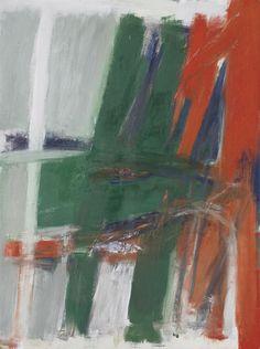 'Ridgeway' (1960) by Jack Tworkov